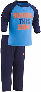 Under Armour Conjunto de camiseta y pantalón de manga larga para niño