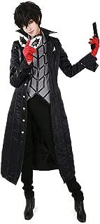 miccostumes Men's Joker Costume Ren Amamiya Protagonist Phantom Thief Cosplay Outfit
