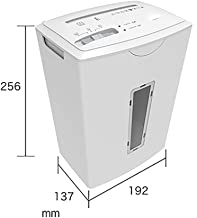 $128 » L.HPT Paper Shredder,5 Sheet Manual Cross Cut Shredder for Home or Small Office Use, 5 Litre Removable Bin, Lightweight, Decent for Home and Small Office Use,Mini,Destroys Paper/Credit Card,White