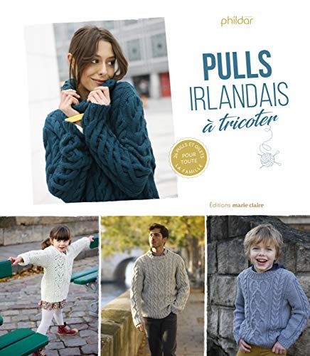 Pulls irlandais à tricoter