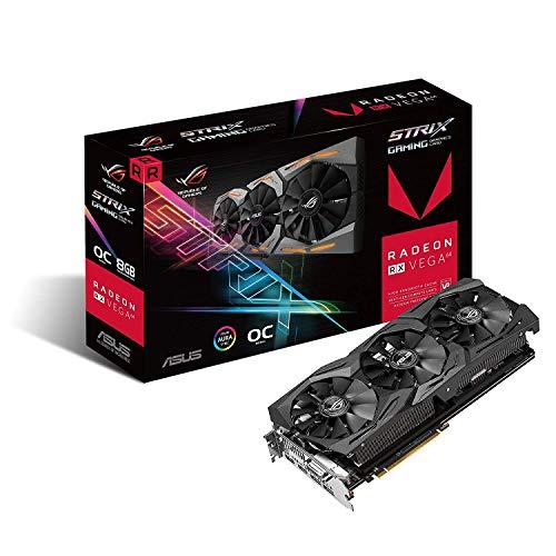 ASUS Radeon RX Vega 64 8GB Overclocked 2048-Bit HBM2