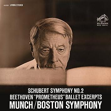 Schubert: Symphony No.2 in B-Flat Major, D. 125 - Beethoven: Die Geschöpfe des Prometheus, Op. 43 (Excerpts)