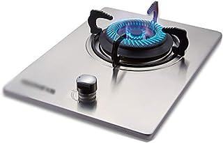 Placa de Gas Olla 43cm Incorporado en una Estufa a Gas |por sobremesa Cocinar |5.0kw |Hierro Fundido Anillos Cocina eléctrica Quemador | fácil de Limpiar [Clase energética A]