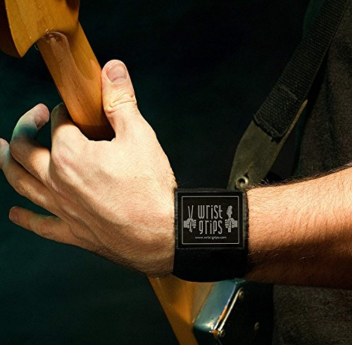 WristGrips Compression Wraps for Musicians | Carpal Tunnel, Tendonitis & Arthritis Releif