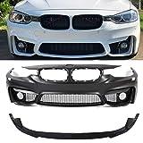PENSUN 2012-18 F80 M3 Style Font Bumper FOR BMW F30 F31 3 SERIES W/O PDC