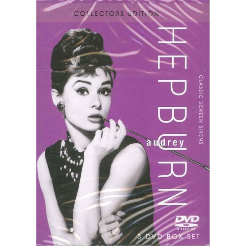 Audrey Hepburn,Collectors Edition,3 DVD Box Set,Roman Holiday/ Breakfast At Tiffanys/Funny Face