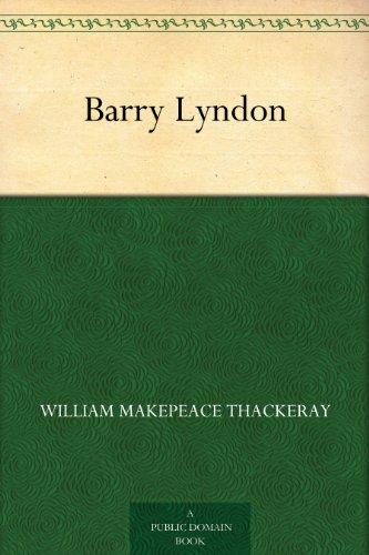 Couverture du livre Barry Lyndon (English Edition)