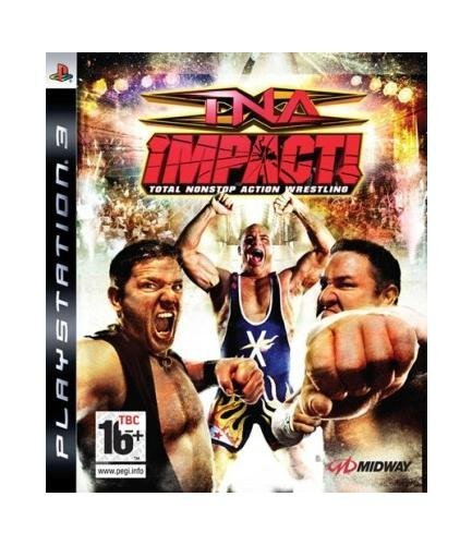 TNA Impact PS-3 Wrestling AT Total Nonstop Action