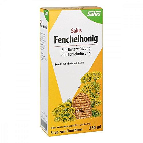 Salus Fenchelhonig Sirup, 250 ml Lösung