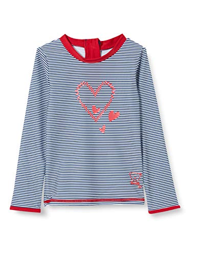 Steiff Mädchen UV Shirt Funktionsunterwäsche, Blau (Black Iris 3032), (Herstellergröße: 104)
