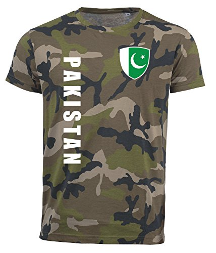 aprom Pakistan T-Shirt Camouflage Trikot Look Army Sp/A (S)