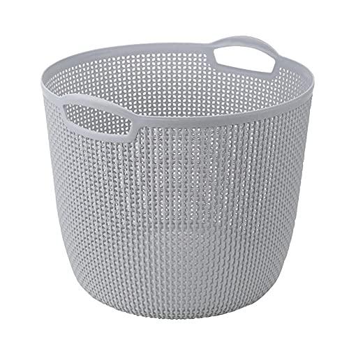 WeZest Cesta De Almacenamiento De PláStico,El Material Grueso Puede Evitar El Polvo Y Limpiar Y Ahorrar Espacio En El Dormitorio La Sala De Estar Y El BañO
