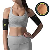 HOT SHAPERS Arm Sleeves – Two Compression Sleeves for a Women's Workout to Lose Fat –...