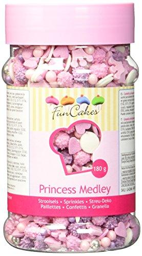 FunCakes Sprinkle Medley -Princess, 1er Pack (1 x 180 g), G42666