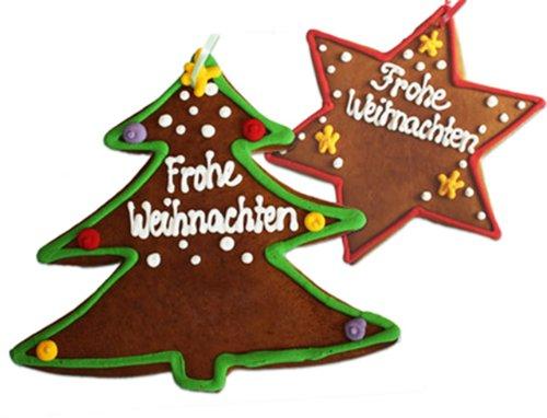 Lebkuchen Weihnachtsbaum Frohe Weihnachten