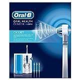 Oral-B Oxyjet Idropulsore con Sistema di Pulizia in Profondità e Tecnologia con Microbollicine, 4 Testine, Idea Regalo Natale