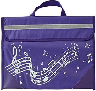Musicwear: Wavy Stave Music Bag (Purple