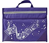 Musicwear-Pentagramma Borsa-Purple [Import]