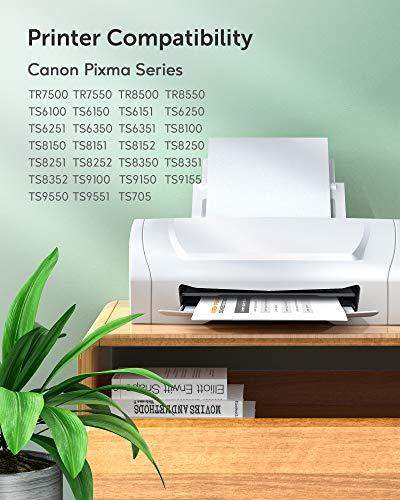 JARBO PGI-580XXL CLI-581XXL Cartuchos de Tinta para Canon 580 581 Compatible con Canon Pixma TR7550 TR8550 TS6150 TS6151 TS6250 TS6350 TS8150 TS8151 TS8152 TS8250 TS9150 TS705 (5-Pack)