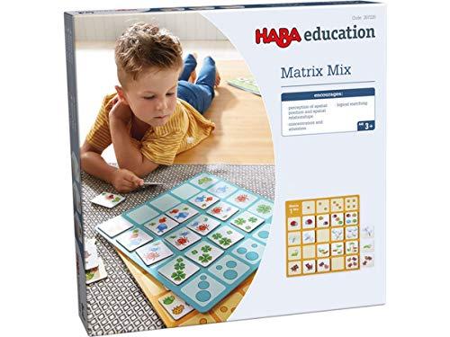 HABA 207.225 Matrix Mix, Brettspiel, Wahrnehmung & Kognition, für Kinder