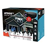 AtmosFX Digital Decorating Kit, Projector with Accessories for Holiday Projection Decorating on Halloween, Christmas, Birthdays, and...