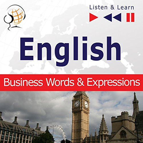English - Business Words and Expressions: Proficiency Level B2-C1 (Listen & Learn) audiobook cover art