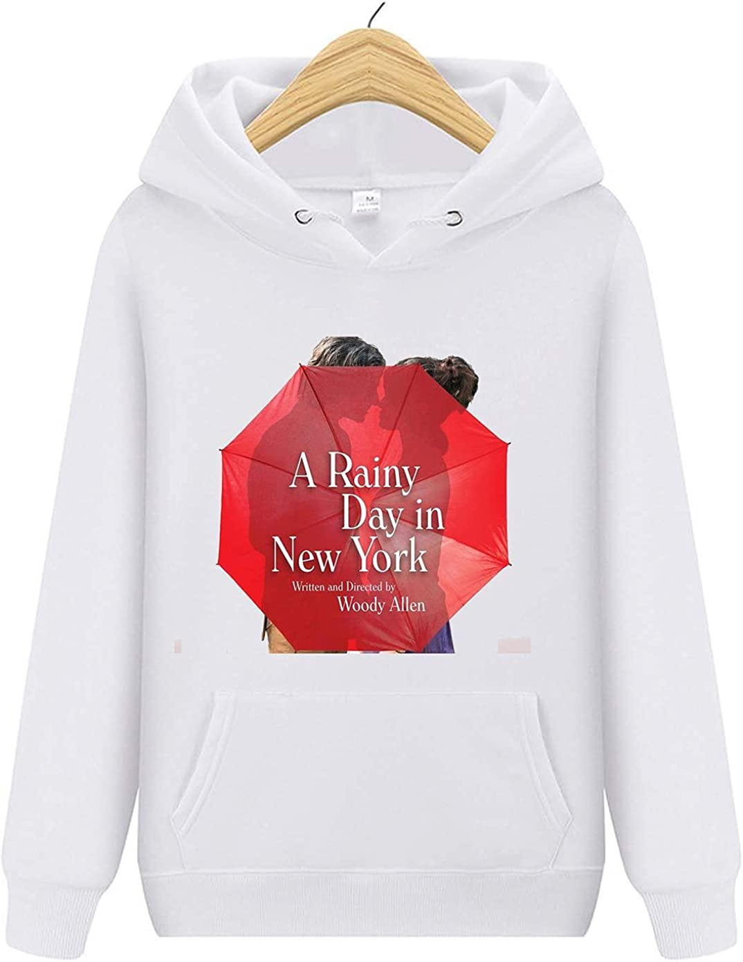 A Rainy Day in New Max 82% OFF Mail order York Printing Adult Hoodie Sweater Classical