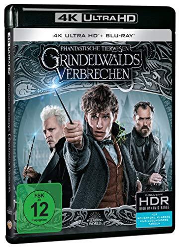 Phantastische Tierwesen: Grindelwalds Verbrechen (4K Ultra HD Kinofassung + 2D Kinofassung) [Blu-ray]
