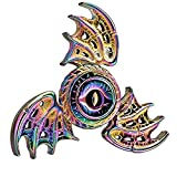 yayay Dragon Wings Eyes Fidget Spinner Toy Spinners Cool Phoenix Rainbow Color Metal Focus Stainless Steel Fingertip Gyro Toys Stress Relief Spiral Twister ADHD EDC Toy for Kids Adults