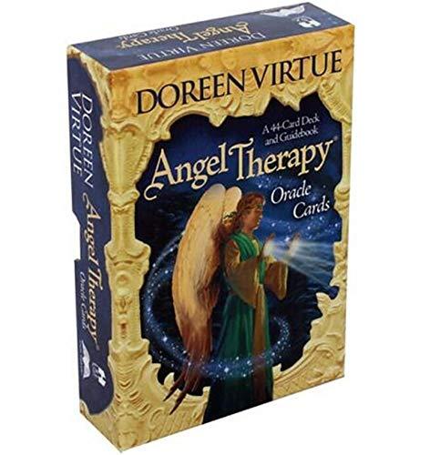 Tarjetas de Tarot, Tarjetas de la terapia de la terapia de Angel Tarjetas Tarjetas Tarot de 44 cartas Conjunto de tarjetas Tarot, tarjetas de tarot para principiantes Set Tarot Card Tarjetas de juego