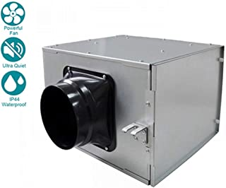 WYHDA Quiet Duct Fan Inline Extractor 150 mm - Air Volume: 400 (m³ / h), 220-240V