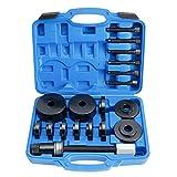 BTSHUB 19pcs Front Wheel Hub Drive Bearing Removal Install Puller Tool Kit Universal