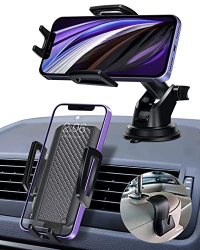[2021 Neu 3 in 1] KFZ Handyhalterung Auto, Kardition Smartphone Handy Halterung PKW Handyhalter Auto, Handy Halter Autohalterung Handy Lüftung, Car Phone Holder für iPhone11/12/13 Pro Max, S10, Huawei