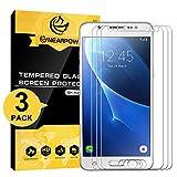 NearPow [3 Pack Protector de Pantalla para Samsung Galaxy J5 2016 Cristal Vidrio Templado [9H...