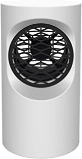 Calefactor Ventilador Pequeña Calentador Convección de Aire Mini Calentador Eléctrico 400W Termostato Tranquilo Bajo Consumo de Energía