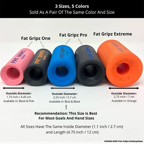 Fat Gripz Extreme Hantelgriffe, Ø 7cm, Orange, 854078001113 - 2