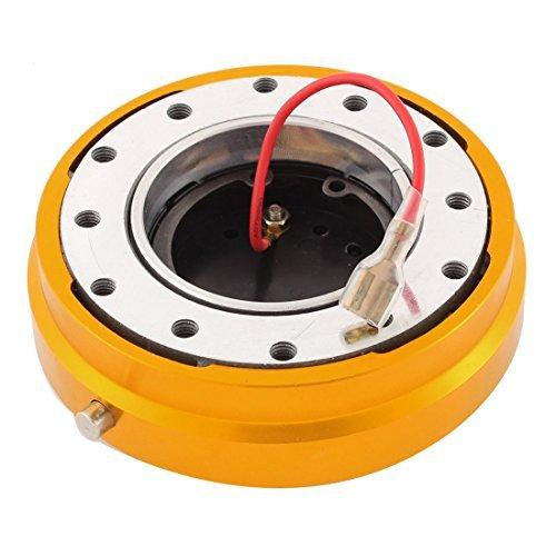 34mm Steering Wheel Quick Release Kit Oro Tone