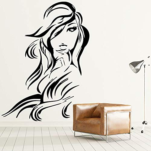 Tianpengyuanshuai Abnehmbarer Wandaufkleber für die Inneneinrichtung Wohnzimmer Schlafzimmerzubehör Vinyl Kunst Aufkleber wasserdichtes Wandplakat36X48cm