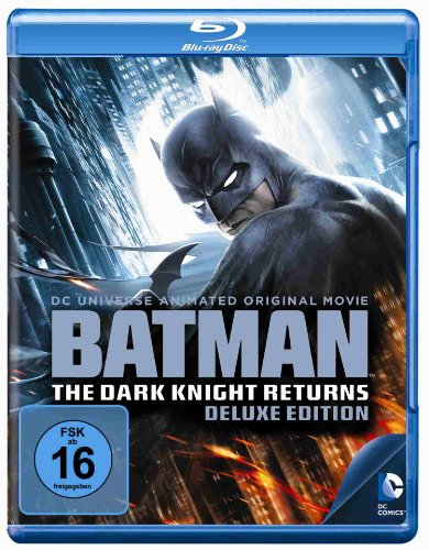 Batman - The Dark Knight Returns 1+2 [Blu-ray] [Deluxe Edition]