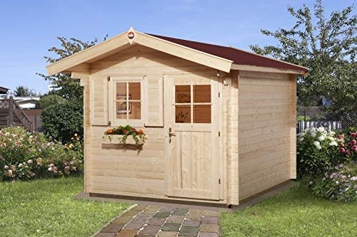 Weka Gartenhaus 106 Gr 1 Vordach 60 cm 28 mm