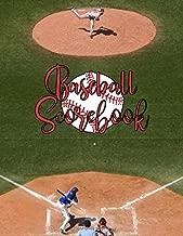 Baseball Scorebook: Record Keeping Book for Baseball Teams