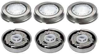 Gizmomix Replacement Head For 3pcs Replacement Shaver Blades Heads For Norelco Philips HQ3 HQ6 HQ55 HQ56 Razor