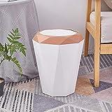 Cubo de basura moderno y sencillo para el hogar