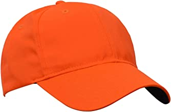 Tirrinia Unisex Blaze Orange Hunting Basics Cap Low Profile Golf Flex Baseball Cap with Adjustable Closure