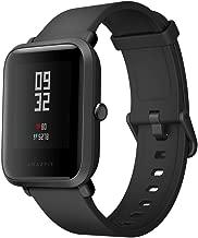 Xiaomi Amazfit Bip Smart Watches Orologi sportivi con GPS Bluetooth IP68 Impermeabile Smartwatch Touch screen Monitor battito cardiaco 45 giorni Durata batteria Ultra-Long Versione globale Nero