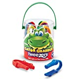 Learning Resources Gator Grabber Tweezers, Fine Motor Toy, , Set of 12, Ages