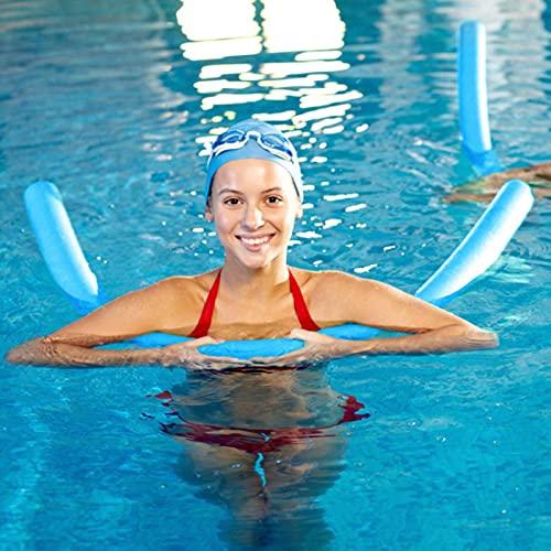 BRAND NEWS Poolnudel - Schwimmende Poolnudeln Schaumschlauch, Schaumpool-Schwimmnudeln 51 Zoll Langlebige Hohlschaum-Schwimmnudeln zum Schwimmen im Schwimmbad Swimming