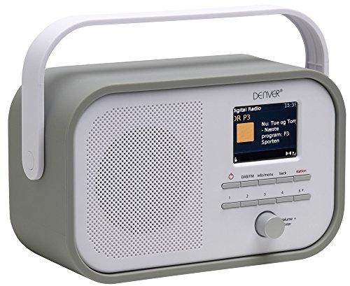 Denver Digital Radio DAB-40 in grau, one Size, 12216600