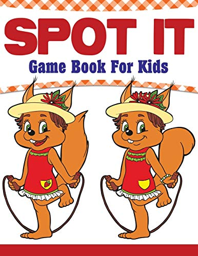 Spot It Game Book For Kids