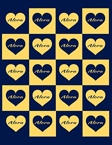 ALORA: Beautiful Alora Present - Perfect Personalized Alora Gift (Alora Notebook / Alora Journal)